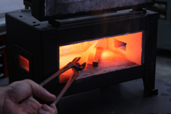 Mighty Forge is a Portable Propane Metalworking Forge